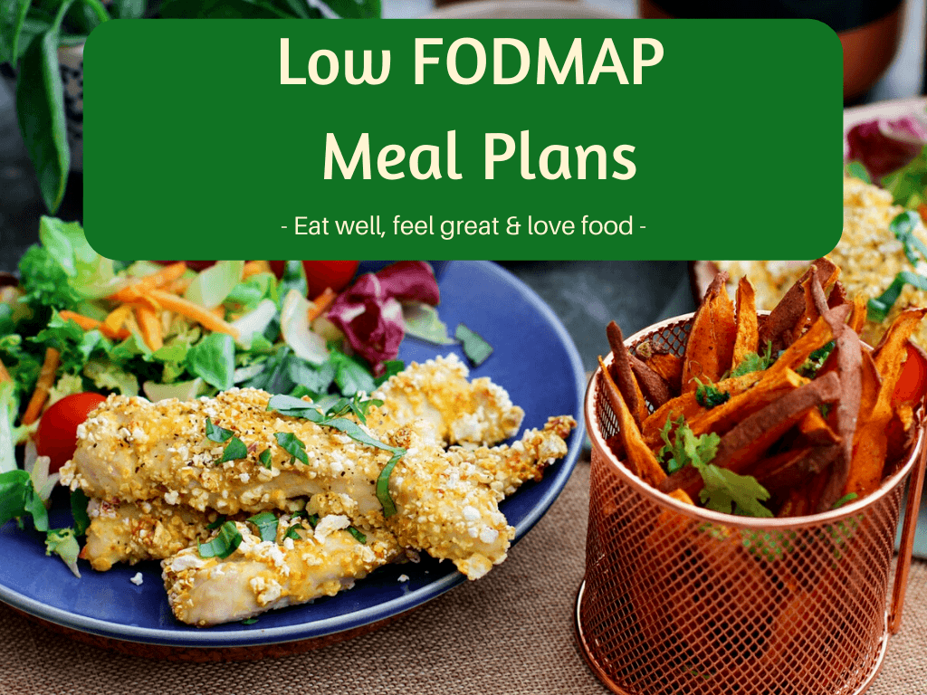 4 Weeks of 5-day Low FODMAP Meal Plans